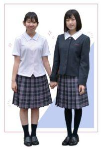 函館大妻高等学校2021年度(令和3年)制服MC