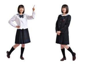 水戸女子高等学校2021年度(令和3年)制服MC