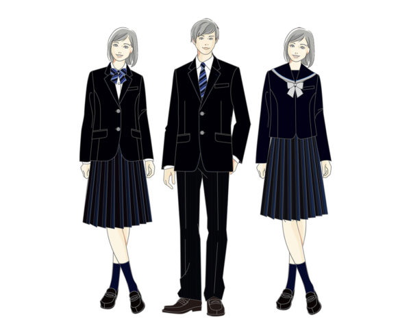 山本学園高等学校2022制服イメージ