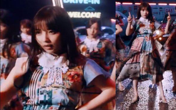 乃木坂46衣装の坂道-27th「ごめんねFingers crossed」歌唱衣装与田祐希