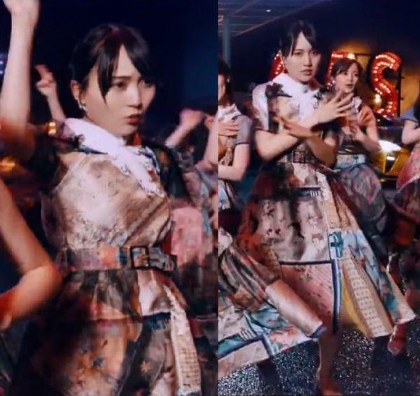 乃木坂46衣装の坂道-27th「ごめんねFingers crossed」歌唱衣装賀喜遥香